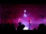 Svetlana Konovskaya and Anna Poznanskaya - Navi duet at Tribal Mafia student show