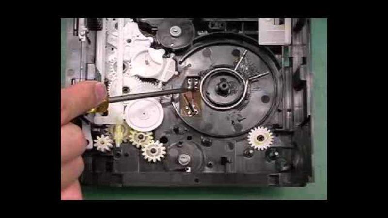 Механизм привода дисков CR16 от Panasonic - как собрать(CR16 assembly)