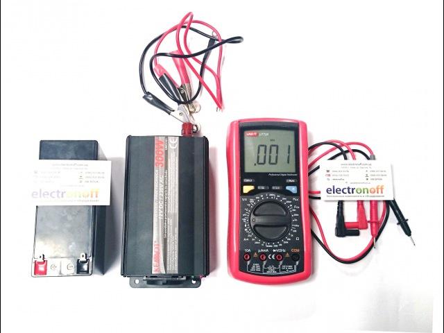 Как проверить выходное напряжение и частоту тока инвертора с помощью мультиметра
