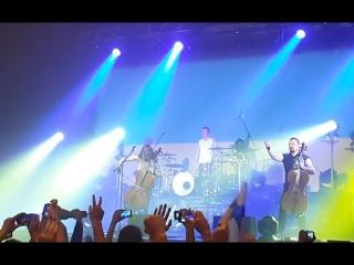 Apocalyptica - Ukrainian anthem (Live in Kyiv / StereoPlaza / 01.12.15)