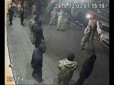 Нападение на МСЛ. Запись с камеры наблюдения 4