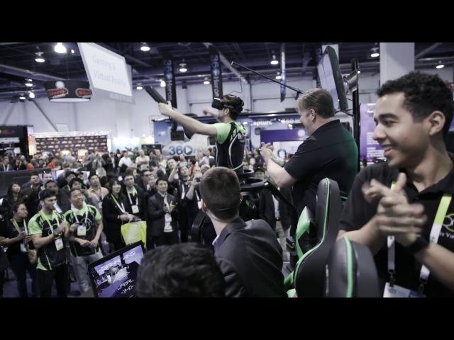 Virtuix Omni - eSports Tournament CES 2016