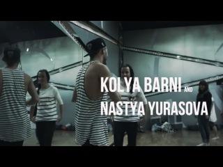 Коля Барни и Настя Юрасова/ Sonya - Дай мне сказать (Зажгу)