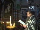Епископ Максим пропел стихиру Днесь висит на древе
