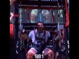 """I Love Powerlifting on Instagram: """"Вчера на турнире LA Fit Expo Дэниел Белл собрал без экипировки (только в бинты) 1045 кг. Собственный вес 149,9 кг Приседания 445 кг Жим…"""""""