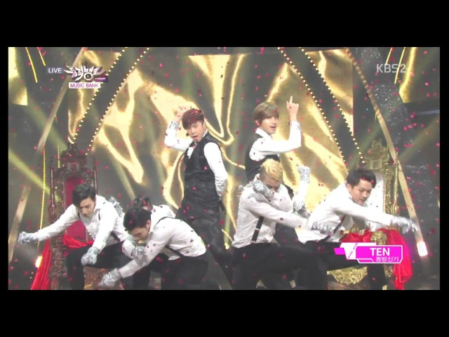 TVXQ! 동방신기 Comeback Stage TEN KBS MUSIC BANK 2014.01.03
