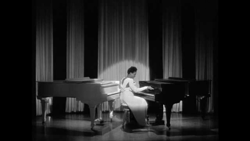 Black White are Beautiful - Hazel Scott on 2 Grand Pianos