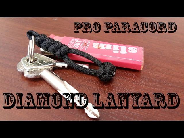 Плетение темляка из паракорда змеиным узлом I ProParacordTV