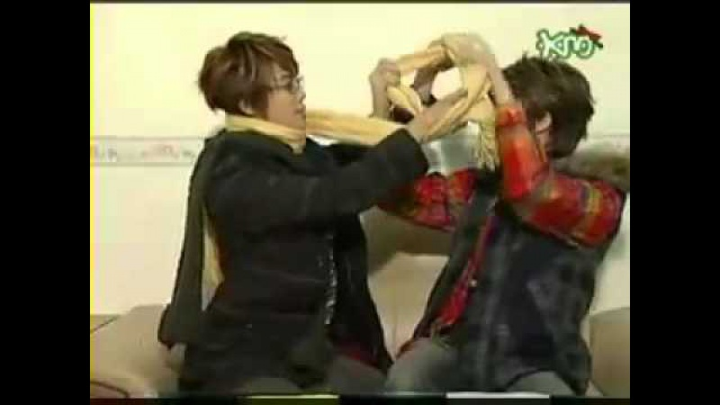 SS501 Park Jung Min Bullying Kim Hyung Jun kekeke~ (Tom Jerry Moments)