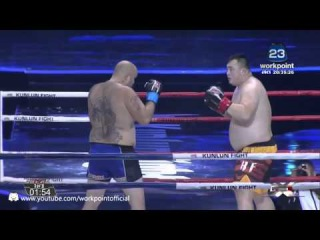 Zou Litoo VS Steven Panda Banks, 09.01.2016, Kunlun Fight 36
