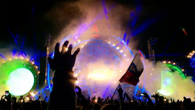 Deadmau5 live@ AFP 2015 | Alfa Future People