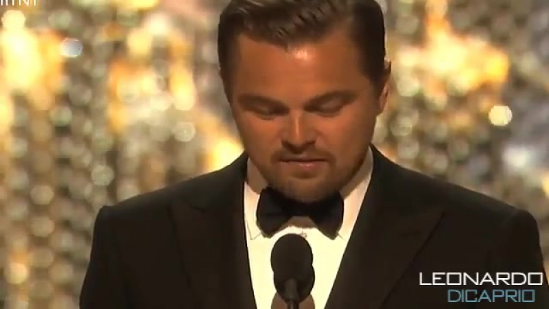 Leonardo DiCaprio Wins The Oscar 2016 - The oscars 2016 Best Actor ( The Revenant) Леонардо Ди Каприо получил Оскар.