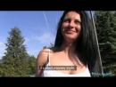 Публичный секс за деньги. Сексуальную румынку в обтягивающих трусиках трахнули в парке [Teen,XXX,Порно и Секс в Slim Sex] 18