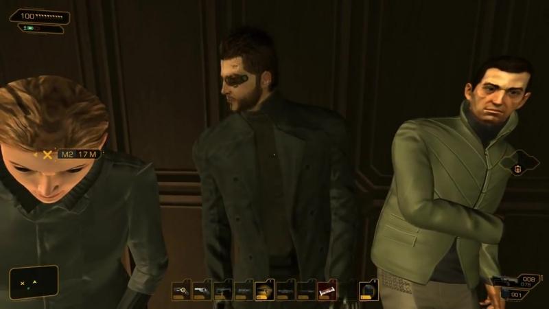 Adam Jensen Does A Safety Dance! (Deus Ex_ Human Revolution)