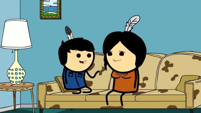 Семья индейцев - Мульт Консервы