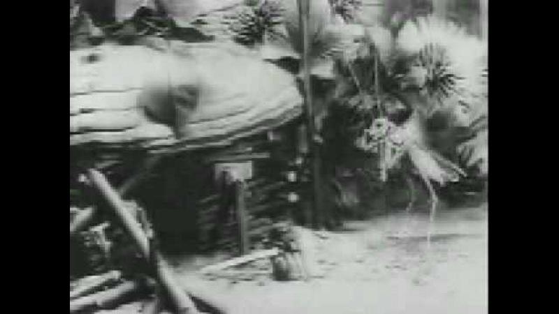 Мультфильм 1913(!) года (Стрекоза и муравей).