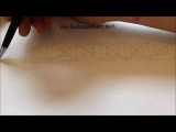 How to Draw Celtic Patterns 123 - Viking Interlace Triskele Part 2 of 6