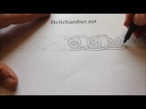 How to Draw Celtic Patterns 124 - Viking Interlace Triskele Part 3 of 6
