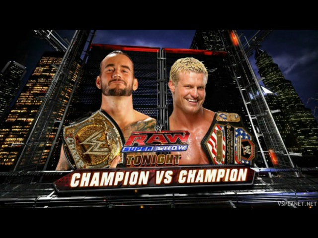 СМ Панк vs Долф Зигглер, WWE Monday Night RAW 21.11.2011