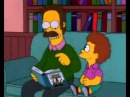 Ned Flanders reads Harry Potter