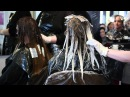 Ombre Hair Colour & Curly Blow Dry Hairdressing Demonstration