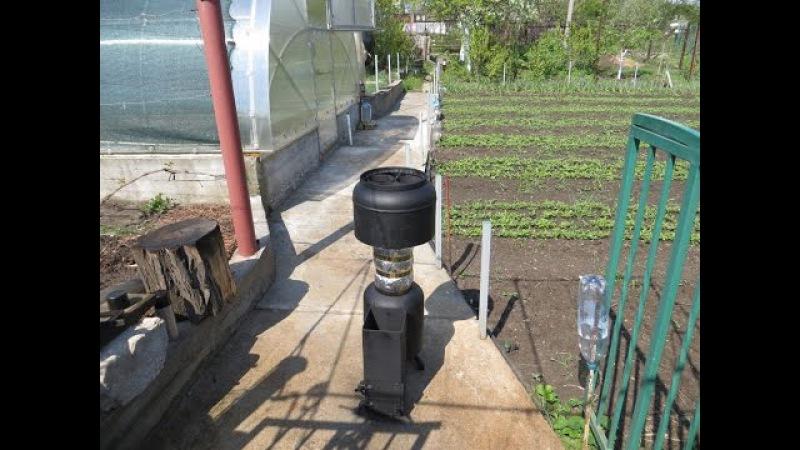 Варочная ракетная печь =КUZMINKA= (часть 2) (УХА , Хинкали) (ROСKET STOVE)