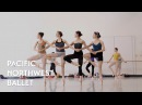 Swan Lake - Pas de Quatre (Dance of the Cygnets Act 2) rehearsal