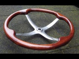 How to Restore an Old Wooden Steering Wheel