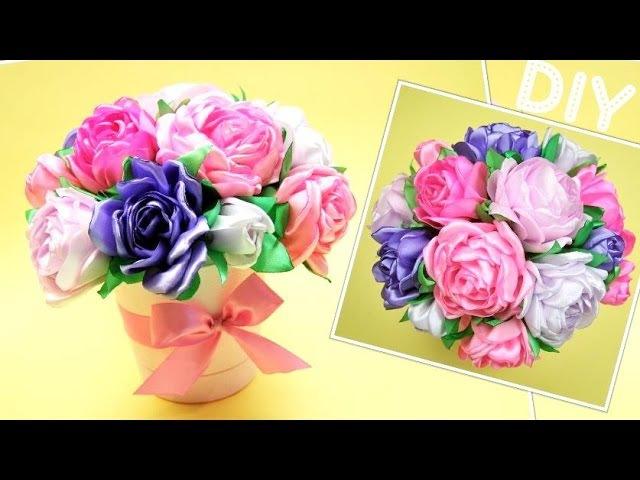 Букет Пионов Своими Руками DIY Bouquet of Peonies ✿ NataliDoma