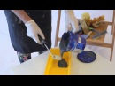 Мастер-класс ВГТ - нанесение эмали Металлик с помощью аппликатора дерево