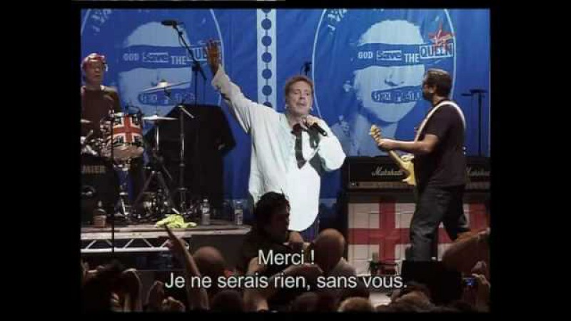 Sex pistols God save the queen HQ (live 2007)