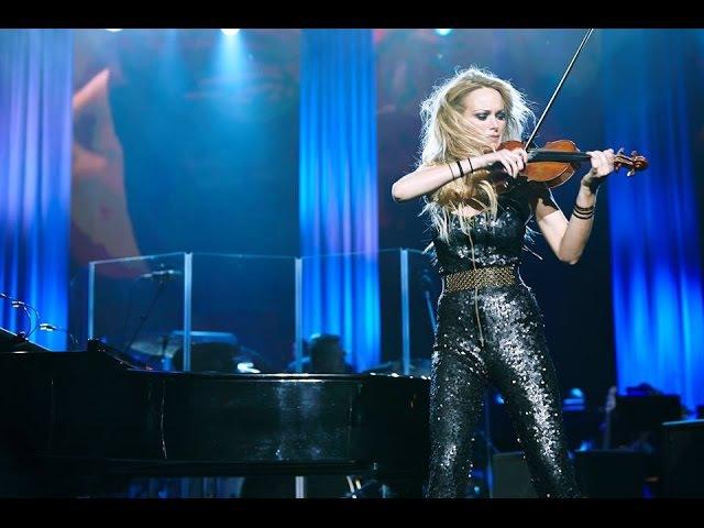 Violinist Caroline Campbell Skyfall LIVE