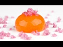 Molecular Gastronomy Frozen Reverse Spherification to Make Spheres with Liquid Inside