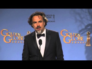 Leonardo DiCaprio & Alejandro Gonzalez Inarritu: Golden Globe Awards Backstage Interview (2016)