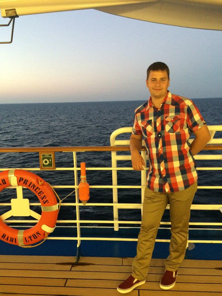 Свадебное путешествие в морском круизе