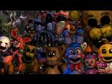 Самые Смешные Моменты Летсплейщиков в Five Nights at Freddy's 1-4