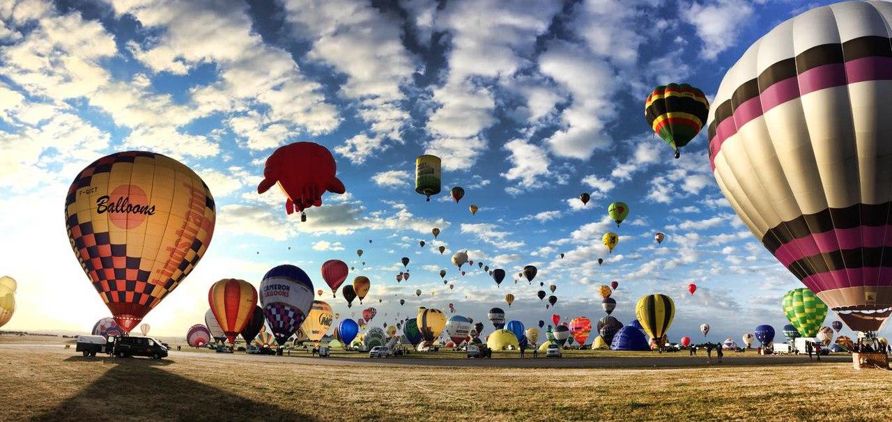 Подарок полёт на воздушном шаре 1005
