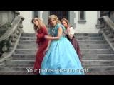 CINDERELLA vs BELLE_ Princess Rap Battle (Sarah Michelle Gellar Whitney Avalon)