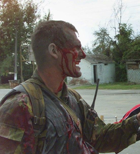 раненный солдат