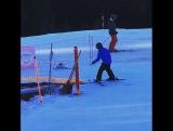 Гаттаманени Гаутам Рождественские каникулы в Альпах  декабрь 2015г