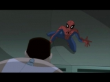 The Spectacular Spider-Man S01 E08 Reaction