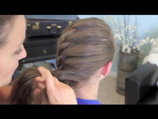 French Twist into Rope Braid _ Back-to-School _ Cute Girls Hairstyles