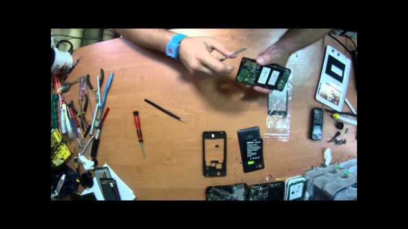 Замена тачскрина в телефоне Explay Tornado