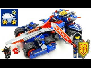 Лего Нексо Найтс 70315. Устрашающий разрушитель Клэя. Обзор и сборка Lego Nexo Knights. Картонка