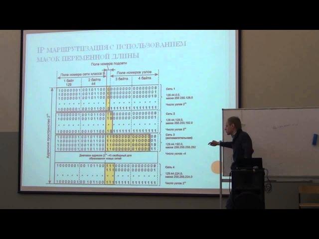Лекция 12 Компьютерные сети Александр Масальских CSC Для Лекториума