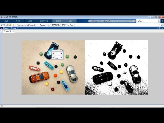 Image Processing Made Easy MATLAB Video