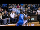 Andrew Wiggins Dunks Over Kevin Durant - Thunder vs Timberwolves - Jan 26, 2016 NBA 2015 16 Season