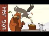 The Eagle - funny cartoons  Log Jam series