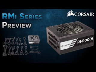 Corsair RMi Series power supplies preview