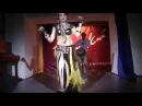 Восточный танец живота под барабаны